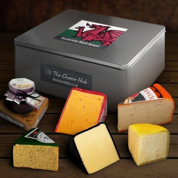 welsh cheese hamper