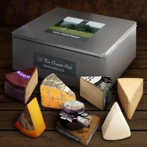 english cheese hamper
