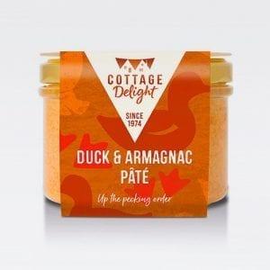 cottage delight duck armagnac pate