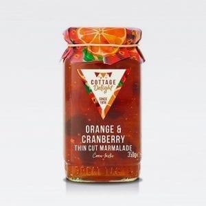 cottage delight orange cranberry marmalade