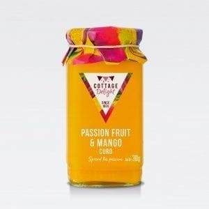 cottage delight passionfruit mango curd