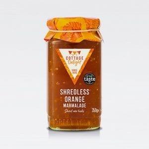 cottage delight shredless orange marmalade