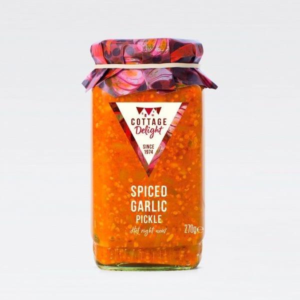 cottage delight spiced garlic pickle