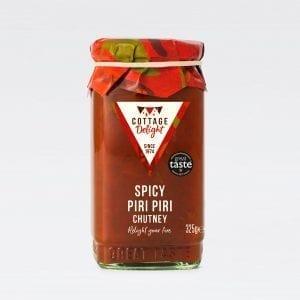 cottage delight spicy piri piri chutney