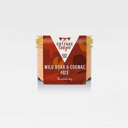 cottage delight wild boar cognac pate