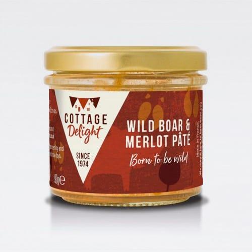 cottage delight wild boar merlot pate
