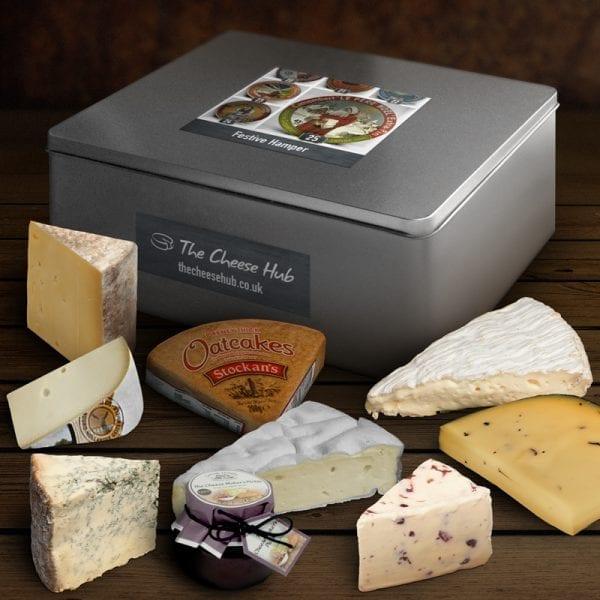 festive cheese hamper